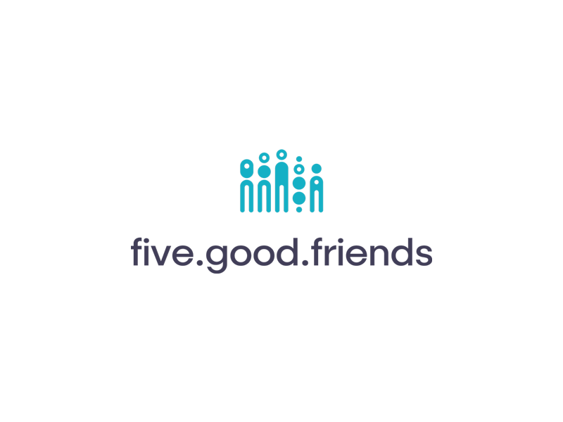 Five Good Friends Logo - Help Is Here